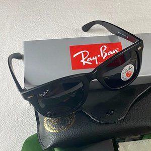NWT Ray-Ban 2140 Polarized Aviators Sunglasses
